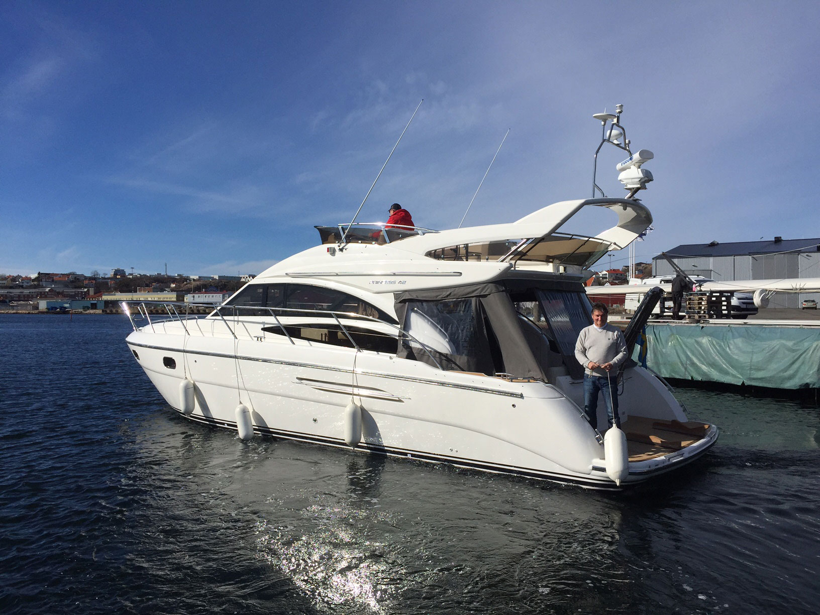 New Distributor For Princess Yachts In Western Sweden Benny